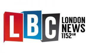 logo of LBC London news